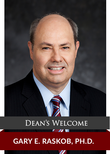 Welcome Message from the Dean